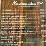 3P menu tanger