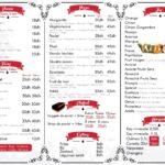 Addik Rabat Menu Restaurant 2