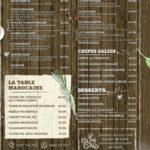 Galicia Rabat Menu Restaurant 2