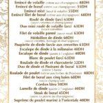 LAvant Goût Rabat Menu Restaurant 1