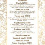 LAvant Goût Rabat Menu Restaurant 4