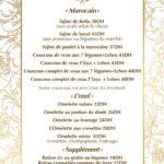 LAvant Goût Rabat Menu Restaurant 5
