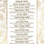 LAvant Goût Rabat Menu Restaurant 8