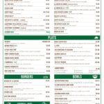 La Cantine Casablanca Menu Restaurant 1
