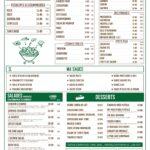 La Cantine Casablanca Menu Restaurant 2