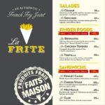 La Frite Casablanca Menu Restaurant 1