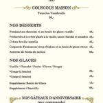 Le Marly Casablanca Menu 3