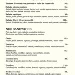 Le Marly Casablanca Menu 5