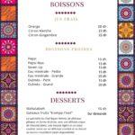 Maison Betrouth Rabat Menu Restaurant 1