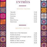 Maison Betrouth Rabat Menu Restaurant 2