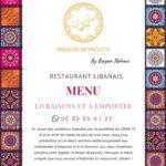 Maison Betrouth Rabat Menu Restaurant 3