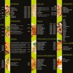 Mamo Food Casablanca Menu