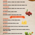 PIZZA des Gourmets Rabat Menu Restaurant 2
