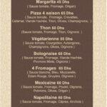 San Marco Rabat Menu Restaurant 1