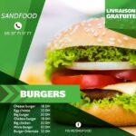 Sand Food Menu1