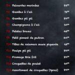 Tapeo Rabat Menu Restaurant 8