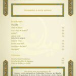 Zayyane Rabat Menu Restaurant 6
