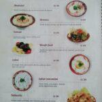 ali baba menu restaurant tanger
