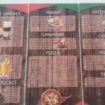 menu amoré italiano