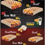 dwich menu tanger