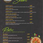 la fourchette kenitra menu 1