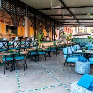 las terrazas de andalucia marrakech restaurant