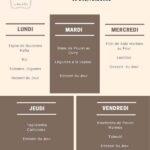 les delices de fafa menu de la semaine restaurant casablanca