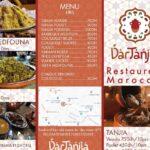 menu dar tanjia tanger
