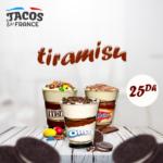 menu tacos de france