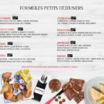 menu vintage tanger