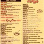 pastaz menu marrakech