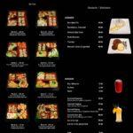 sushi box menu tanger